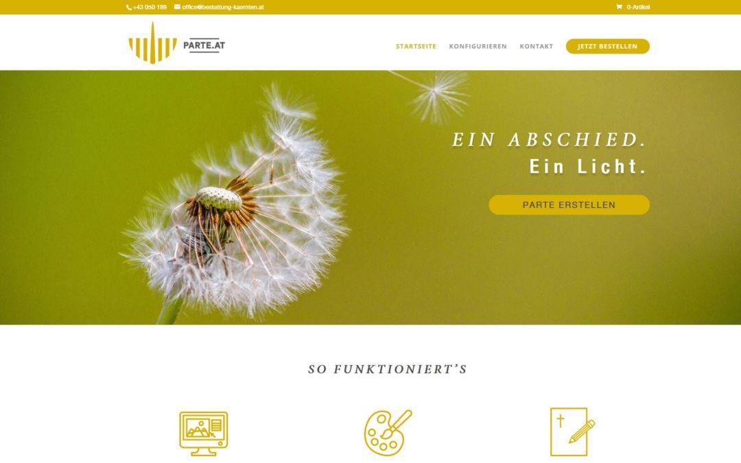 Die Bestattung Kärnten Gruppe geht einen weiteren Schritt in Richtung Digitalisierung